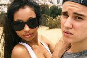 Jayde Pierce postet dette bildet med Justin Bieber fra Runyon Canyon i West Hollywood (Instagram)