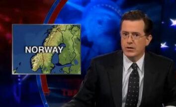 Stephen Colbert fra The Colbert Report (Comedy Central)