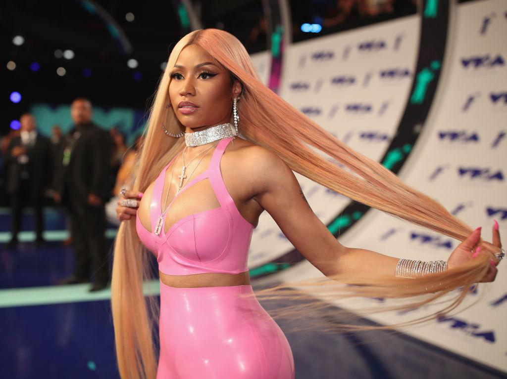 Nicki Minaj på MTV VMA i Inglewood, California i 2017 (Christopher Polk/Getty)