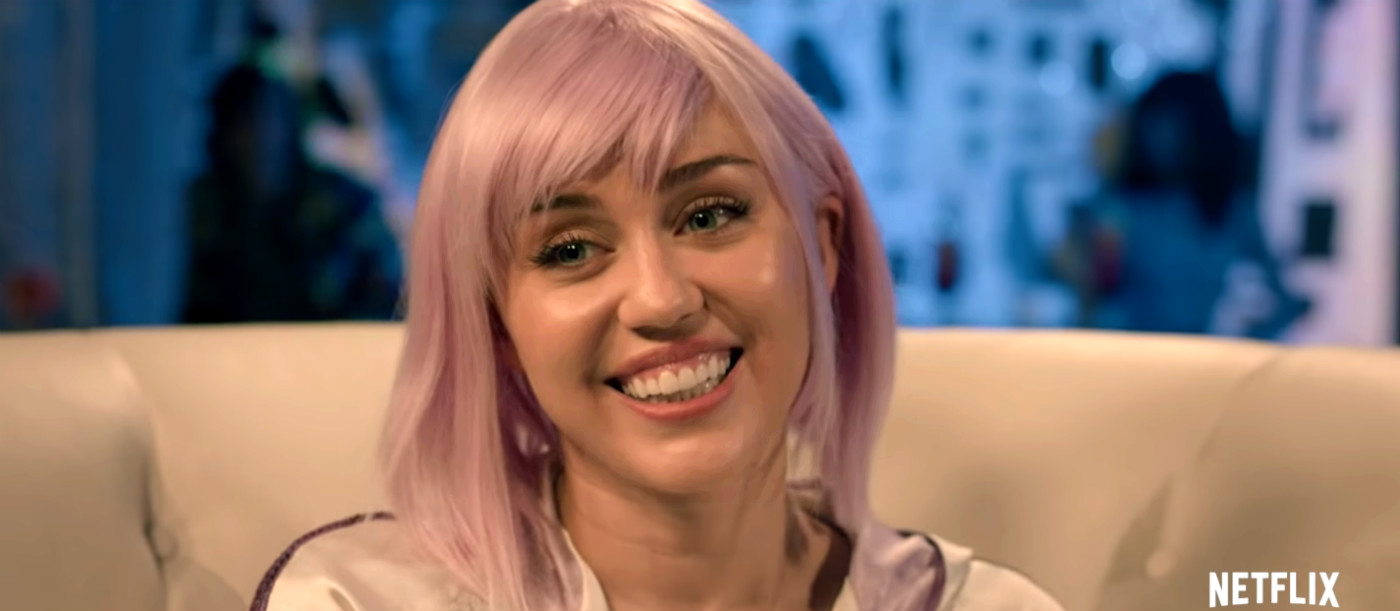 Miley Cyrus i Black Mirror