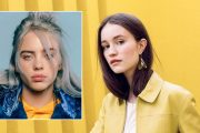 Billie Eilish og Sigrid Raabe