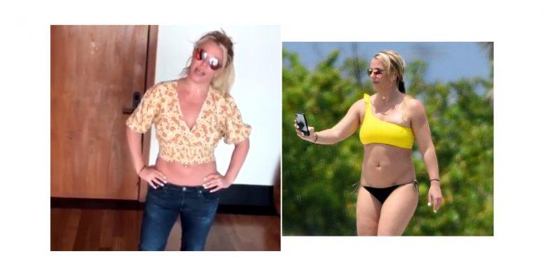 Britney Spears sier hun blir redigert større: – Jeg er tynn som en nål! -  730.no