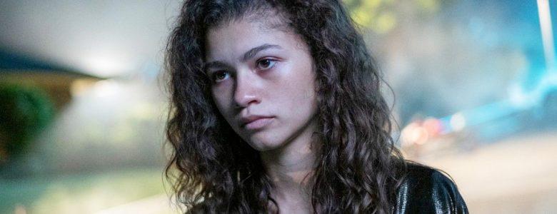 Zendaya alias Daya alias Z som hovedpersonen Rue i Euphoria (HBO)