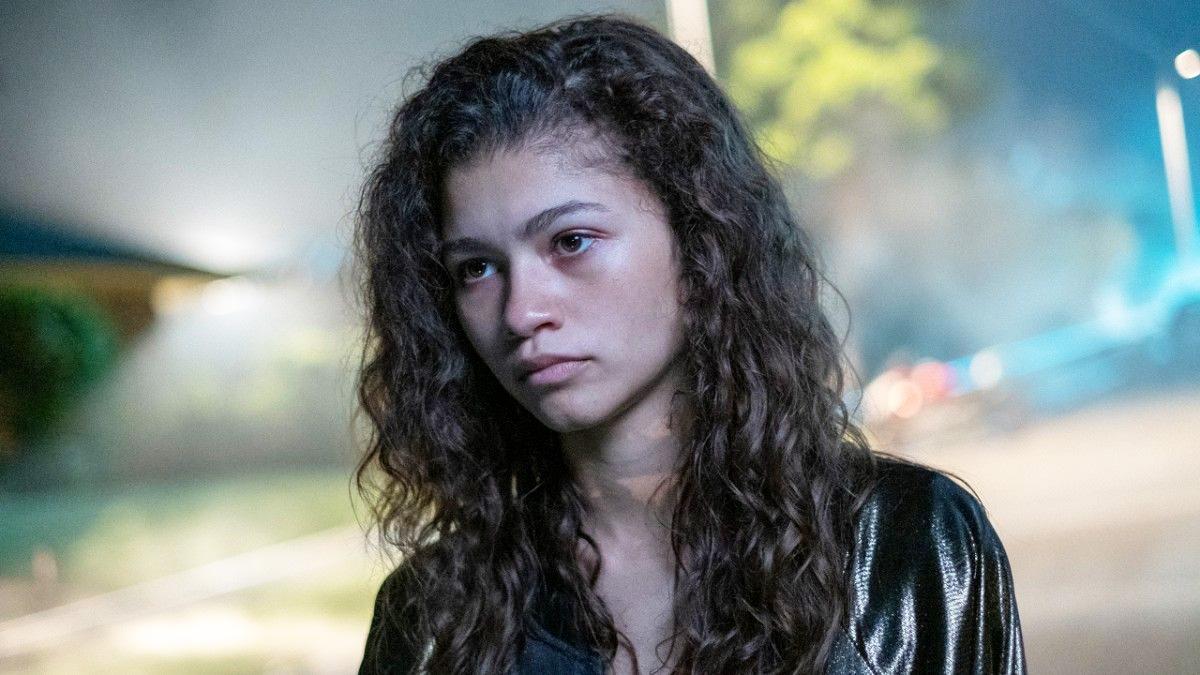 Zendaya alias Daya alias Z som hovedpersonen Rue i Euphoria (HBO Nordic)