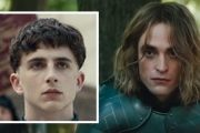 Hei sveis? Timothée Chalamet og Robert Pattinson i The King (Netflix)