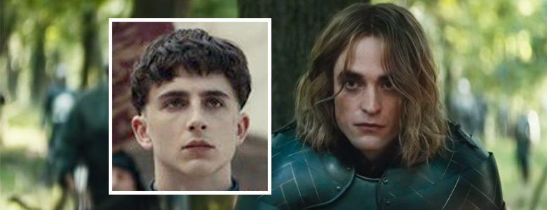 Hei sveis? Timothée Chalamet og Robert Pattinson i The King (Netflix)