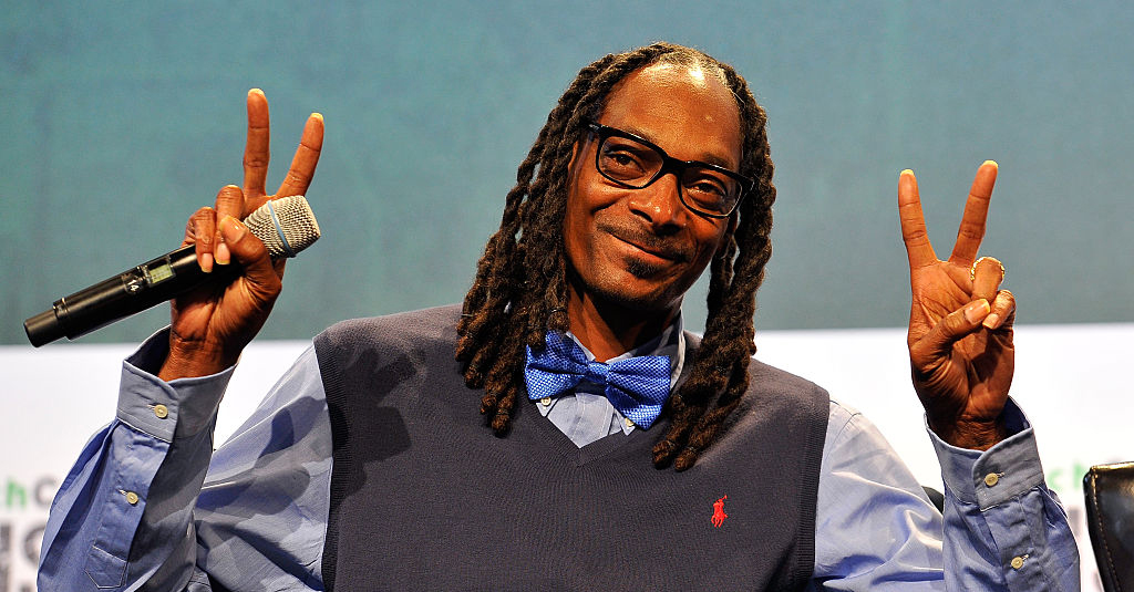 Snoop Dogg på TechCrunch Disrupt 2015 i San Francisco (Steve Jennings/Getty)