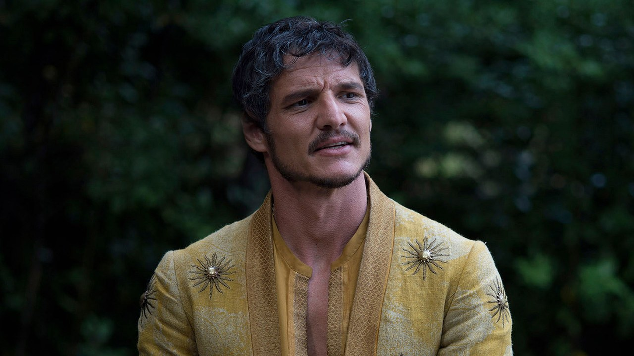 Pedro Pascal spiller The Mandalorian, men her er han Oberyn Martell alias Red Viper i Game of Thrones (HBO)