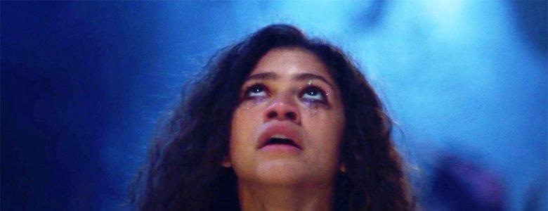 Zendaya som Rue i Euphoria sesong 1 (HBO)