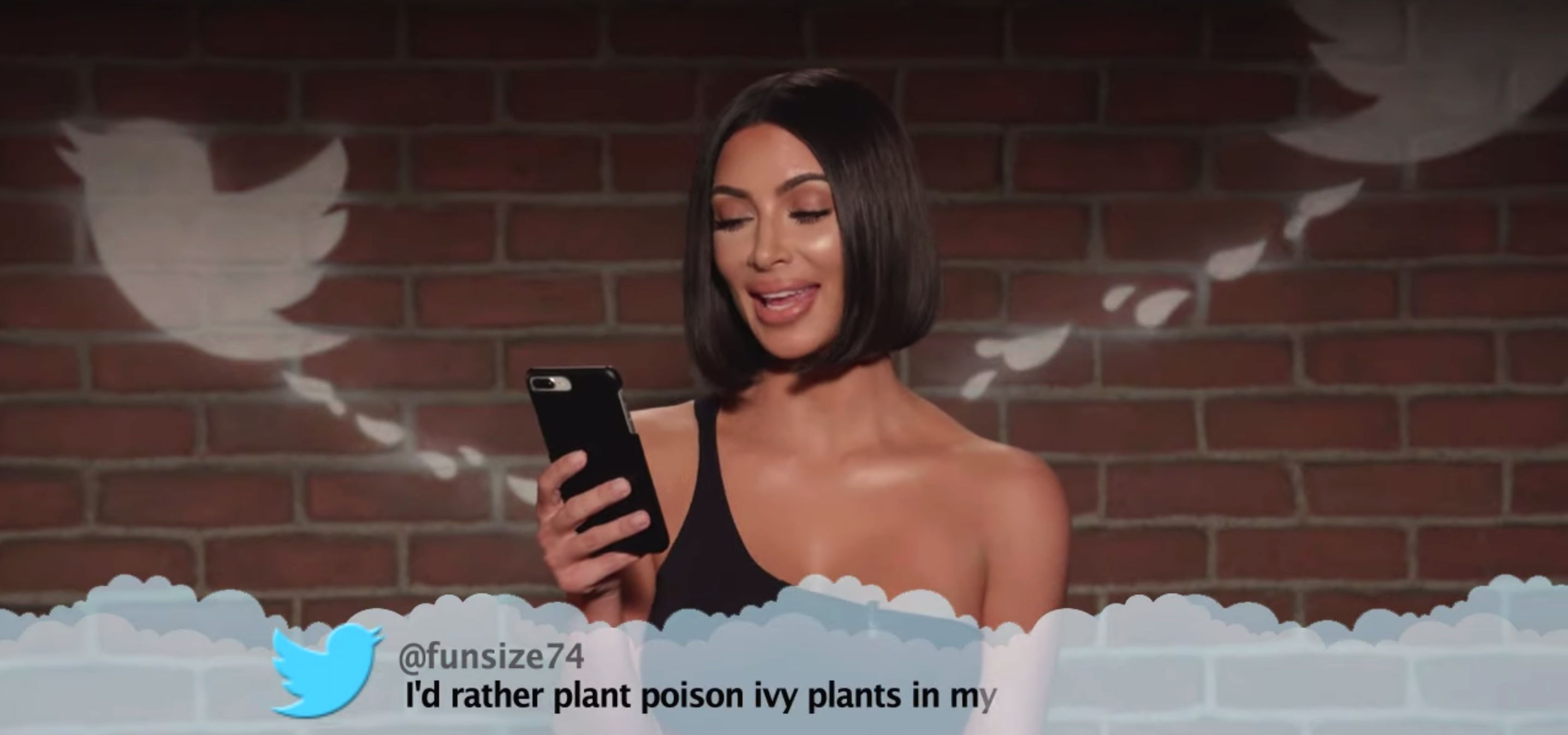 Kim Kardashian x Mean Tweets
