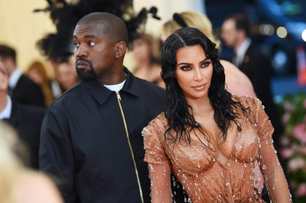 Kanye West og Kim Kardashian på Met Gala i New York i 2019 (Dimitrios Kambouris/Getty)