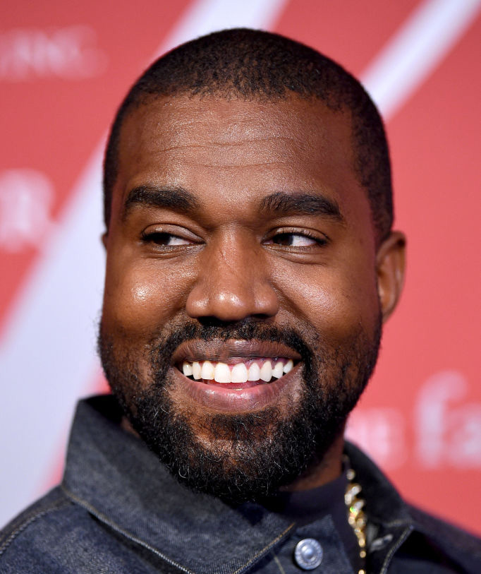 Kanye West på Night of Stars Gala på restauranten Cipriani Wall Street i New York 24. oktober 2019 (Dimitrios Kambouris/Getty)
