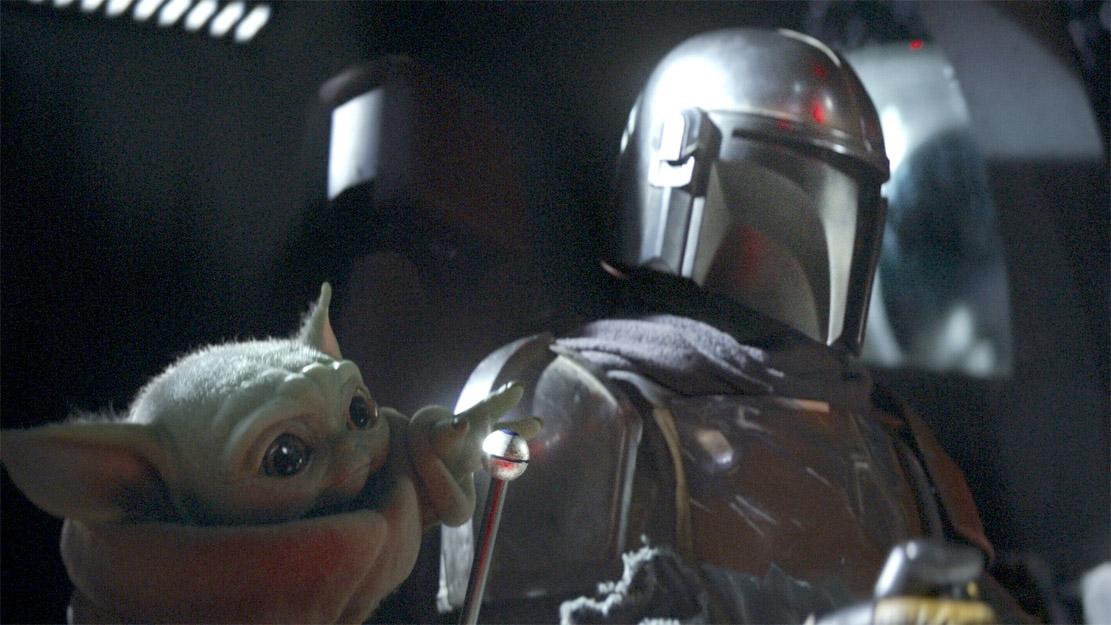Baby Yoda alias The Child (Disney Plus)