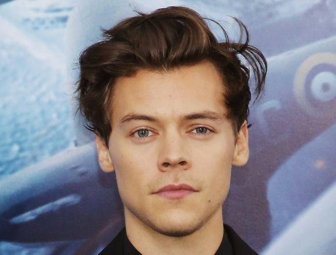 Harry Styles på premieren til Christopher Nolan-krigsfilmen Dunkirk i 2017 (Mireya Acierto/FilmMagic)