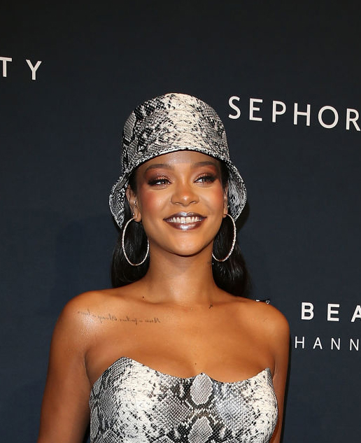 Believe It: Rihanna slapp ny musikk i natt som gjest for PARTYNEXTDOOR. Her er på Fenty Beauty-event i Sydney, Australia i oktober 2018 (Caroline McCredie/Getty)
