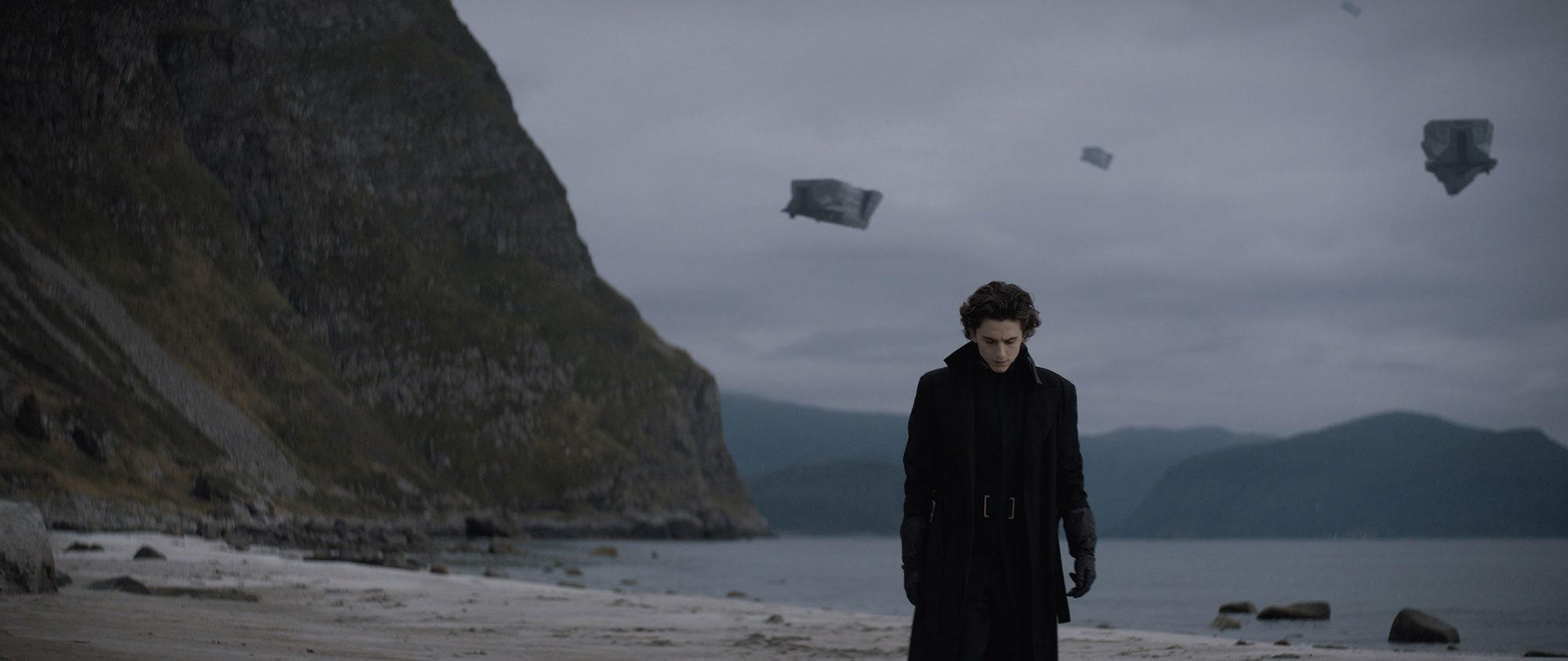 Første bilde av Timothee Chalamet som Paul Atreides i Dune (Warner Bros.)