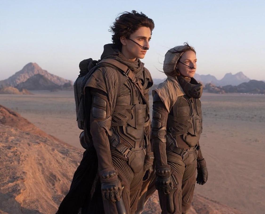 Timothée Chalamet og Rebecca Ferguson (Warner Bros.)