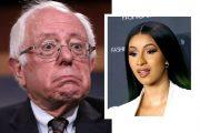 Bernie Sanders og Cardi B stilte på Instagram Live Win McNamee/Getty, Tommaso Boddi/Getty)