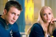 Chris Evans og Jessica Alba som halvparten av Fantasic Four (Marvel/Fox)