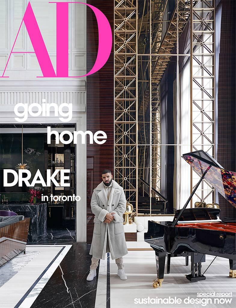 Drake med grove brudd på den norske janteloven (faksimile Architectural Digest)