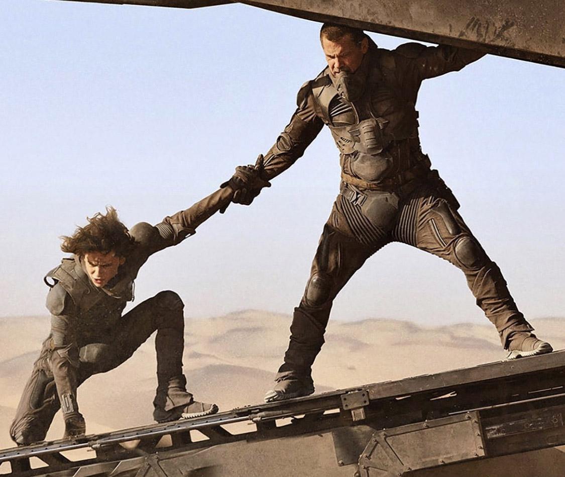 Timothée Chalamet og Josh Brolin (Warner Bros.)