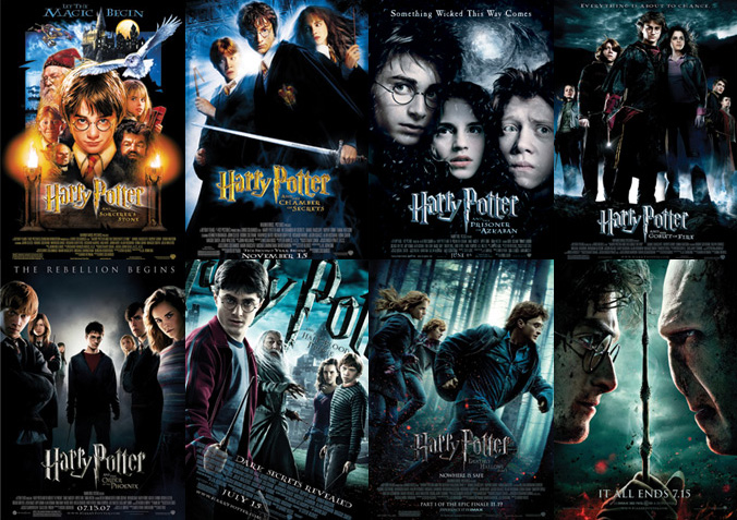 Harry Potter 1-8 til HBO Max (Warner Bros.)