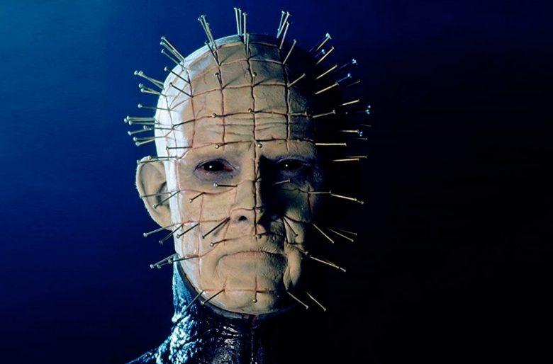 Doug Bradley som Pinhead fra The Cenobites i Hellraiser fra 1987 (Film Futures/Entertainment Film Distributors)