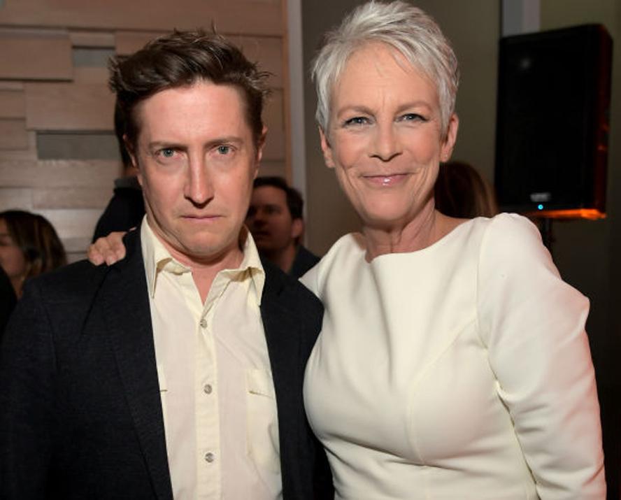 HBO har hyret regissør David Gordon Green til å gjøre TV-showet Hellraiser. Her med Jamie Lee Curtis på event for hans film Halloween i 2018 (Charley Gallay/Getty)