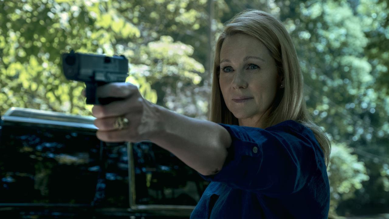 Laura Linney som boss bish Wendy Byrde (Netflix)