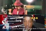 Teddy Riley og Babyface på Instagram Live for Swizz Beatz og Timbalands Verzuz-battleserie (skjermbilde Instagram)