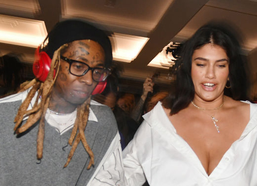 Lil Wayne og La'Tecia Thomas (Gerardo Mora/Getty via Young Money/Republic)
