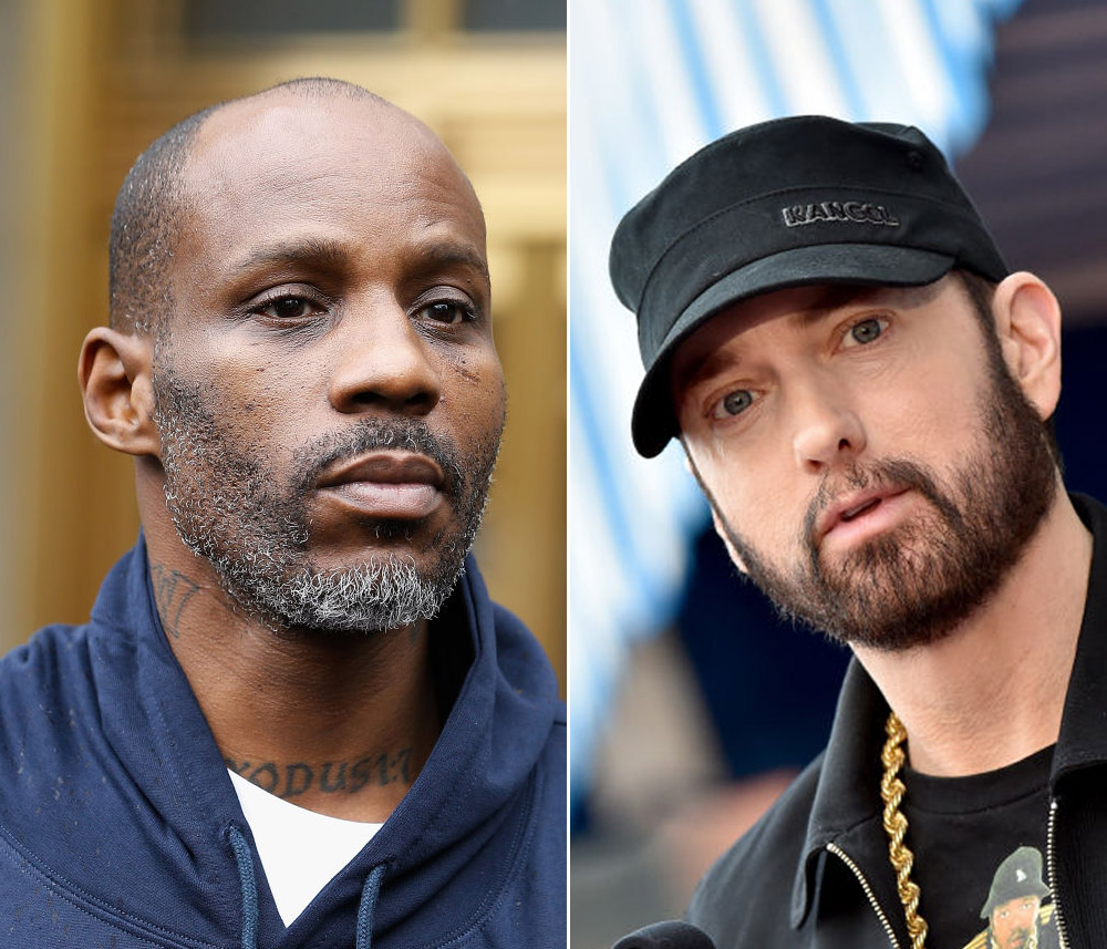 DMX vs. Eminem? (John Lamparski/Getty Images, Axelle/Bauer-Griffin/FilmMagic)