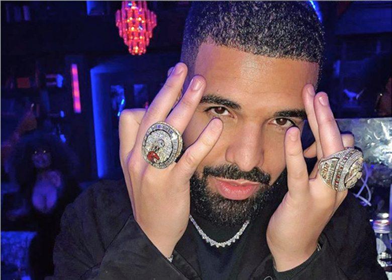 Drake alias Drizzy med sin topp 5 (Instagram/champagnepapi)