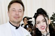 Elon Musk og Grimes på Met Gala på The Metropolitan Museum of Art i New York i mai 2018 (Dia Dipasupil/WireImage)