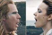 Lars Erickssong og Sigrit Ericksdottir alias Will Ferrell og Rachel McAdams (Netflix)