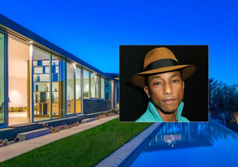 Pharrell skal flytte (Westside Estate Agency, David Buchan/Getty)