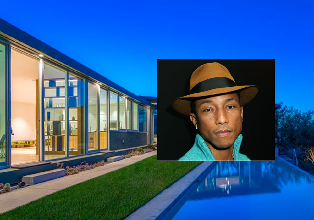Pharrell skal flytte (Westside Estate Agency, David Buchan/Getty)