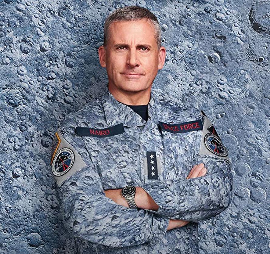Steve Carell går fra Michael Scott til General Mark R. Naird (Netflix)