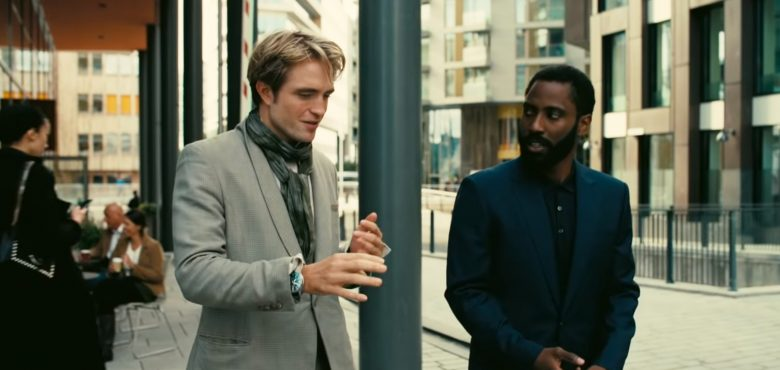 Robert Pattinson og John David Washington i Tenet på Tjuvholmen i Oslo (SF Norge/Warner Bros.)