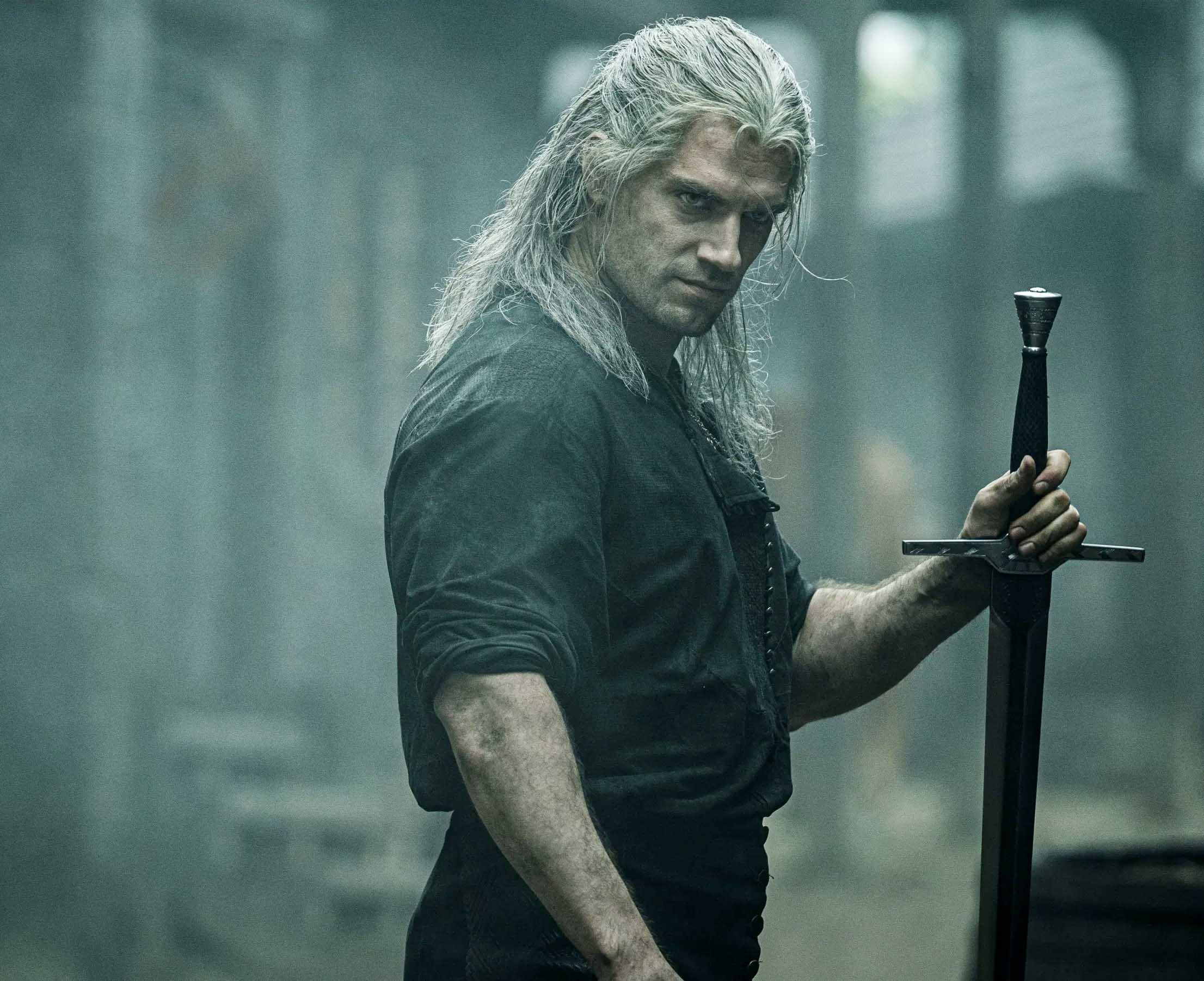 Henry Cavill som Geralt of Rivia i The Witcher (Netflix)