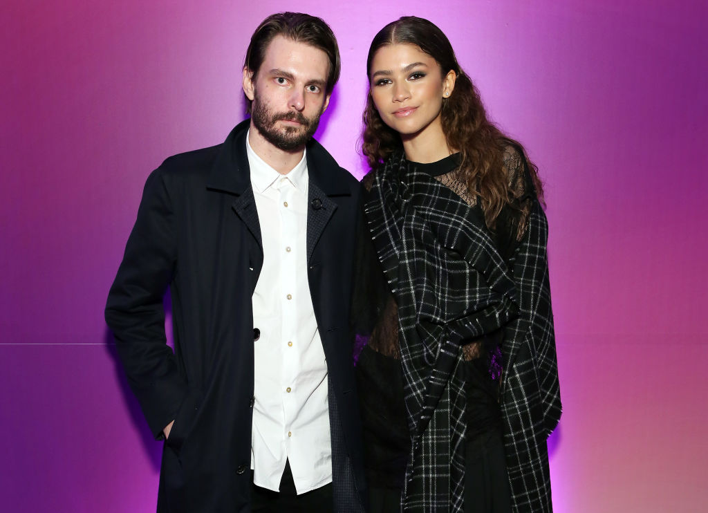 Zendaya og Euphoria-manusforfatter/regissør Sam Levinson på screening i New York i juni 2019 (Monica Schipper/Getty)