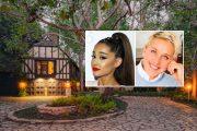 Ariana Grande tar over huset til Ellen DeGeneres (Realtor, Jesse Grant/Getty, Warner Bros.)