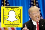 Snapchat vs. Donald Trump (Drew Angerer/Getty)