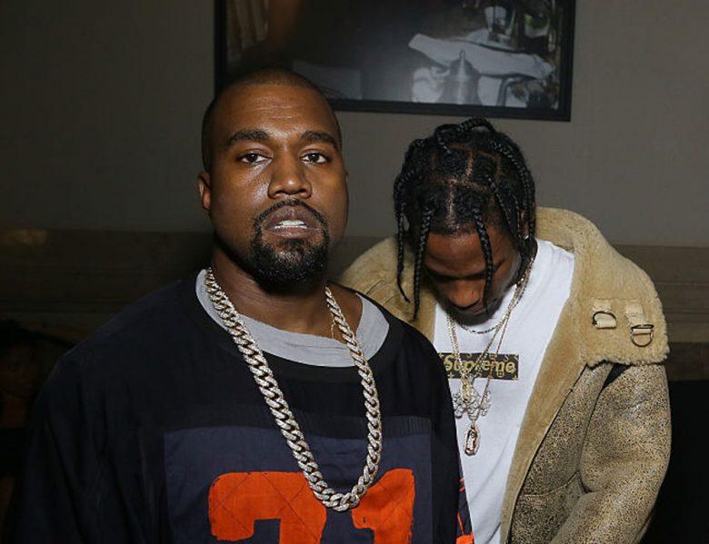 Kanye West og Travis Scott slapp musikkvideo i ettermiddag (Victor Boyko/Getty)