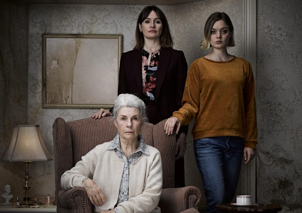 Robyn Nevin, Emily Mortimer og Bella Heathcote i Relic (Europafilm/IFC Midnight)
