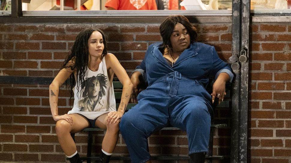 Zoë Kravitz og Da'Vine Joy Randolph (Hulu)
