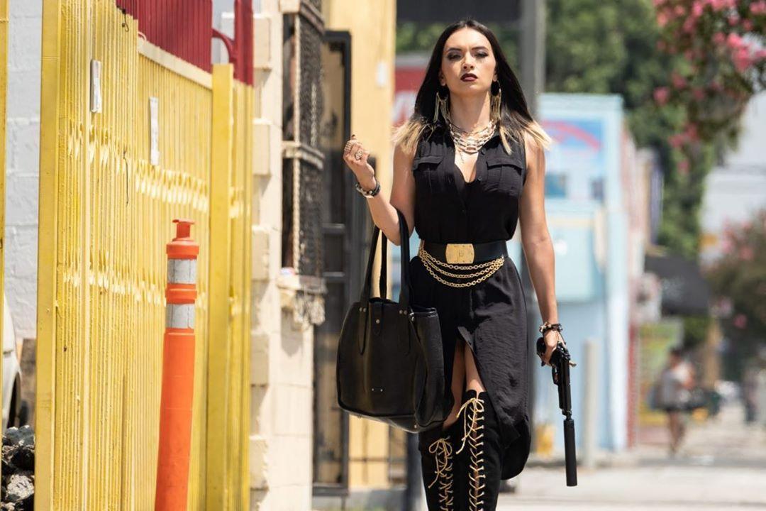 Cheyenne Rae Hernandez som Alexis Cuevas i The Tax Collector (Cross Creek/RLJE)