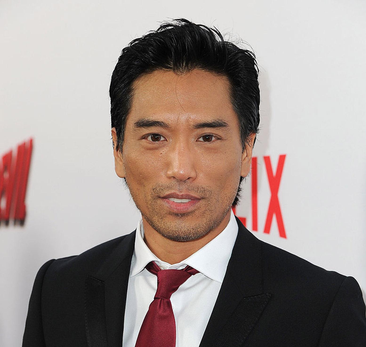 Peter Shinkoda på premieren til Netflix' Marvel-serie Daredevil i Los Angeles i 2015 (Angela Weiss/Getty)