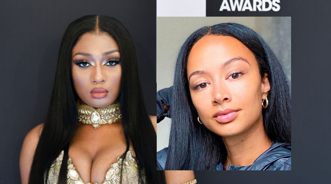 Megan Thee Stallion og Draya Michele (Rodin Eckenroth/WireImage, Instagram/drayamichele)