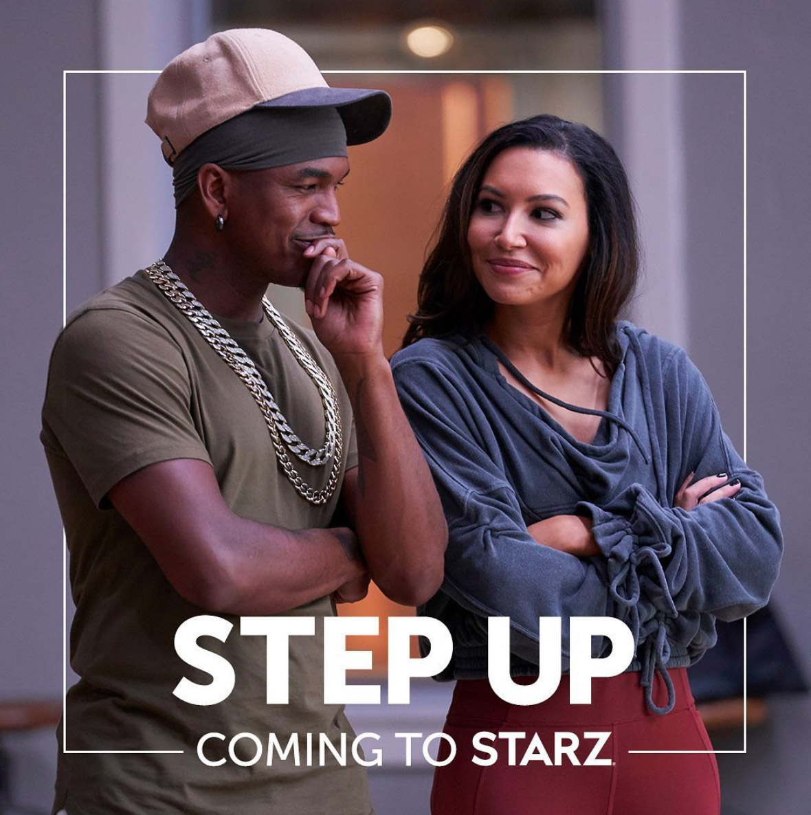 Step Up med Ne-Yo og Naya Rivera er snart klar for sesong 3 (Starz)